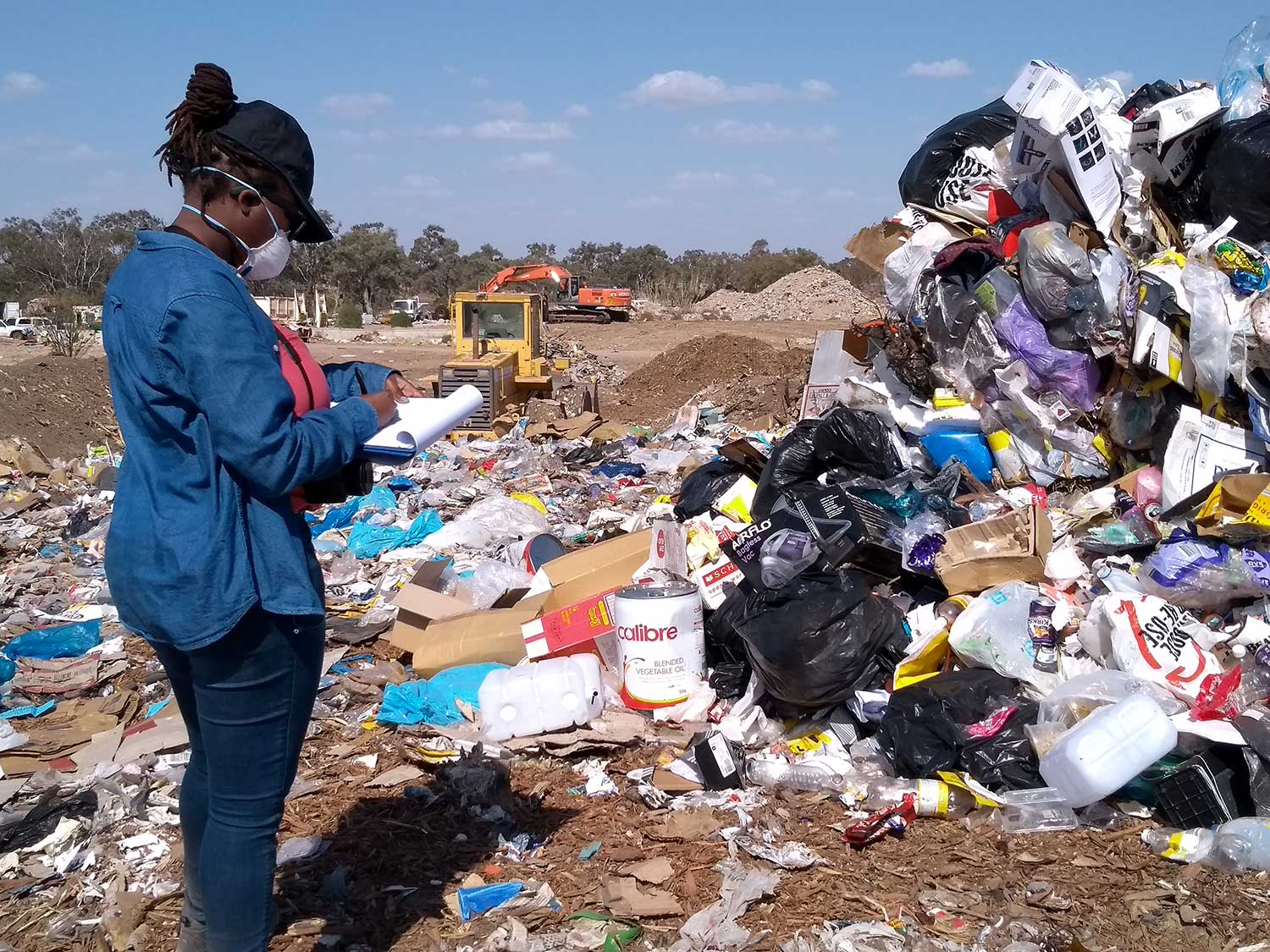 Makrita Solitei, Walgett waste audit